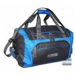 Kelioninis krepšys Borderline SB808 Tamsiai pilkas/mėlynas