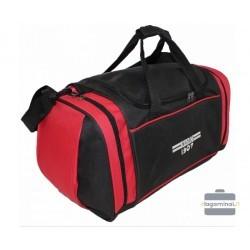 Kelioninis krepšys Borderline SB09-B Juodas/raudonas