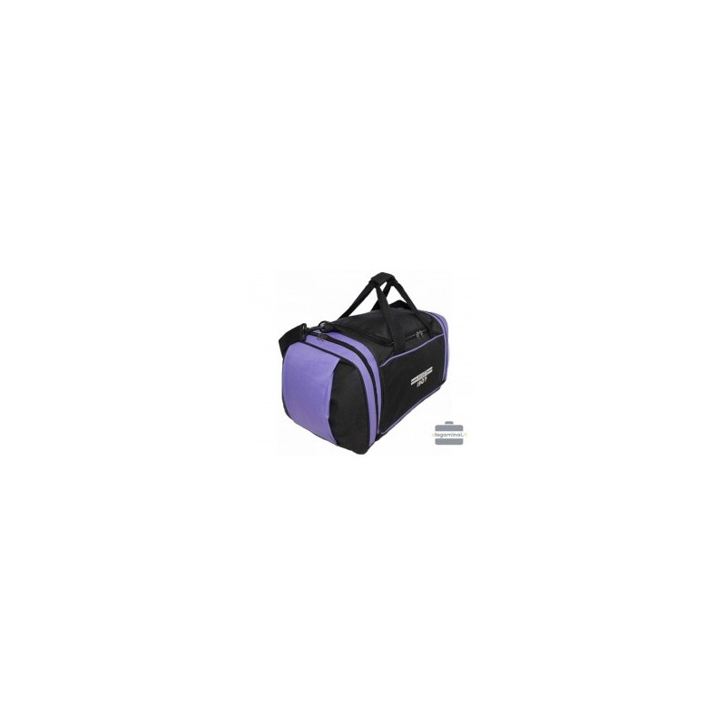Kelioninis krepšys Borderline SB09-B Juodas/violetinis