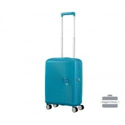 Mažas lagaminas American Tourister Soundbox M Mėlynas