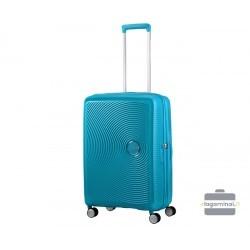 Vidutinis lagaminas American Tourister Soundbox V Mėlynas