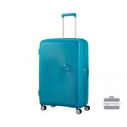 Didelis lagaminas American Tourister Soundbox D Mėlynas