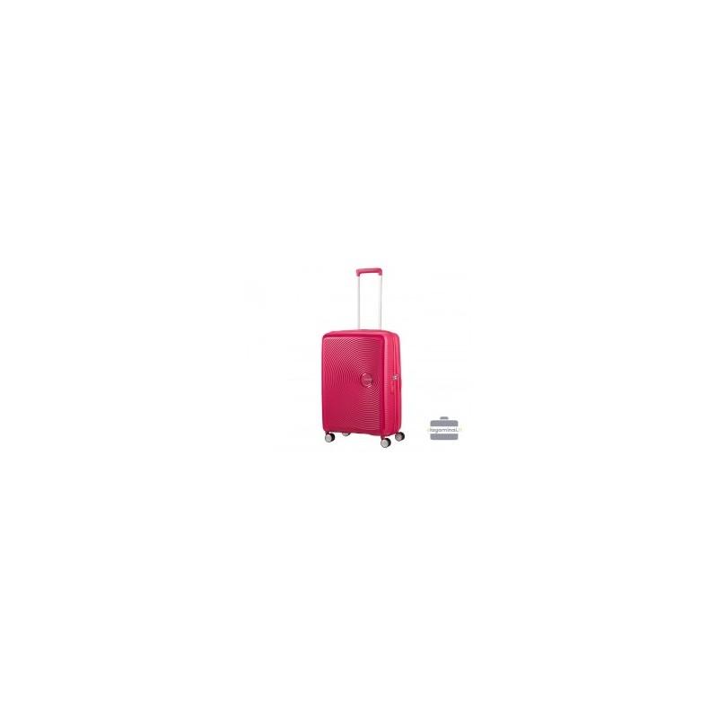 Vidutinis lagaminas American Tourister Soundbox V Raudonas