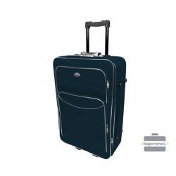 Vidutinis medžiaginis lagaminas Deli 101-V Tamsiai mėlynas