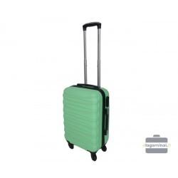 Mažas plastikinis lagaminas Gravitt 117-M Šviesiai žalias