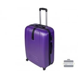 Vidutinis plastikinis lagaminas Gravitt 188-V Violetinis