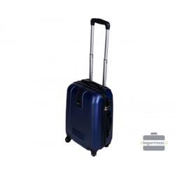 Mažas plastikinis lagaminas Gravitt 188-M Tamsiai mėlynas
