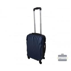Mažas plastikinis lagaminas Gravitt 126-M Tamsiai mėlynas