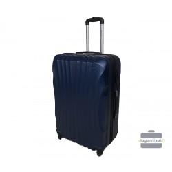 Didelis plastikinis lagaminas Gravitt 126-D Tamsiai mėlynas