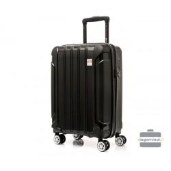 Mažas plastikinis lagaminas Swissbags Tourist II M Juodas