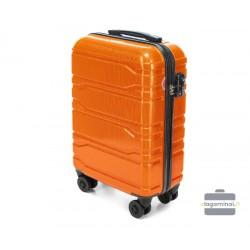 Mažas plastikinis lagaminas Wittchen 56-3P-981 Oranžinis