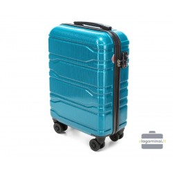 Mažas plastikinis lagaminas Wittchen 56-3P-981 Mėlynas