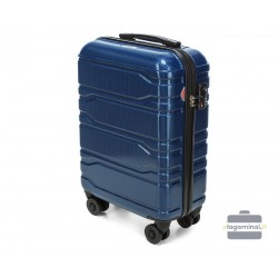 Mažas plastikinis lagaminas Wittchen 56-3P-981 Tamsiai mėlynas