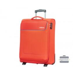Mažas medžiaginis lagaminas American Tourister Funshine M Oranžinis
