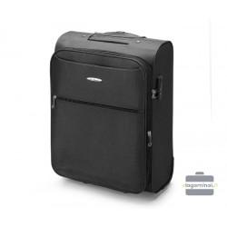 Mažas medžiaginis lagaminas VIP Travel V25-3S-241-M Juodas