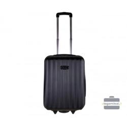 Mažas plastikinis lagaminas Bagia 514-M Juodas