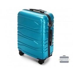 Vidutinis plastikinis lagaminas Wittchen 56-3P-982 Šviesiai mėlynas