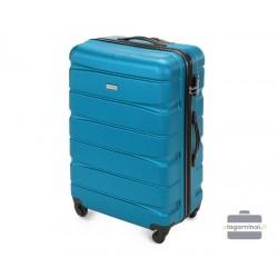 Didelis plastikinis lagaminas Wittchen 56-3A-363 Mėlynas