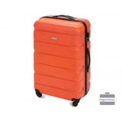 Didelis plastikinis lagaminas Wittchen 56-3A-363 Oranžinis