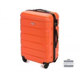 Vidutinis plastikinis lagaminas Wittchen 56-3A-362 Oranžinis