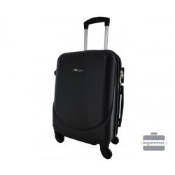 Mažas plastikinis lagaminas Bagia 8091-M Juodas
