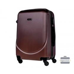 Mažas plastikinis lagaminas Bagia 8091-M Mėlynas