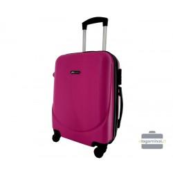 Mažas plastikinis lagaminas Bagia 8091-M Violetinis