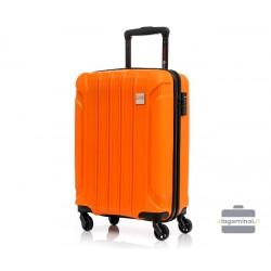 Vidutinis plastikinis lagaminas Swissbags Tourist-V Mėlynas