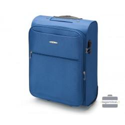 Mažas medžiaginis lagaminas VIP Travel V25-3S-241-M Mėlynas
