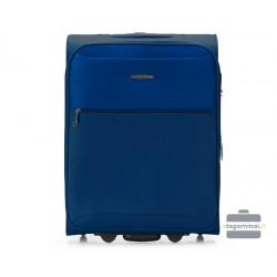 Mažas medžiaginis lagaminas VIP Travel V25-3S-241-M Tamsiai mėlynas