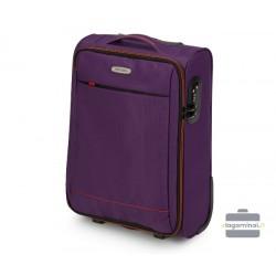Mažas medžiaginis lagaminas Wittcen 56-3S-461 Violetinis