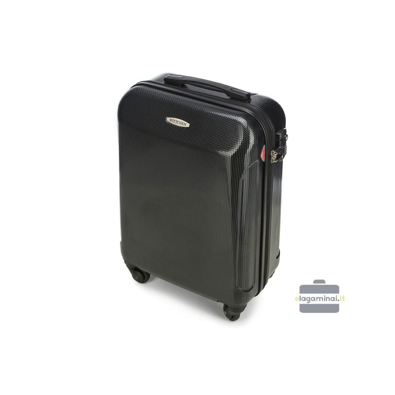 Mažas plastikinis lagaminas Wittchen 56-3P-871 Juodas