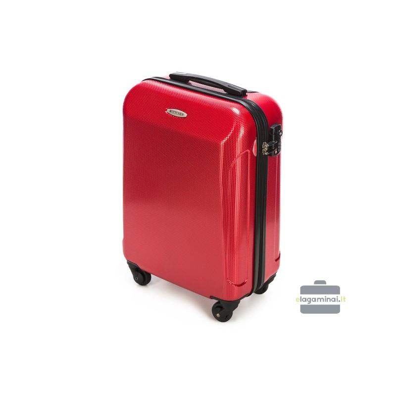 Mažas plastikinis lagaminas Wittchen 56-3P-871 Raudonas