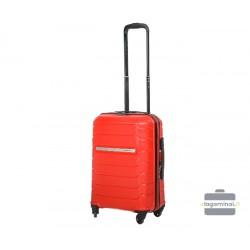 Mažas plastikinis lagaminas Burak PQ-M Raudonas