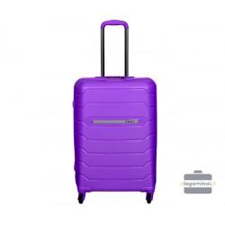 Vidutinis plastikinis lagaminas Burak PQ-V Violetinis