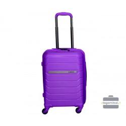 Mažas plastikinis lagaminas Burak PQ-M Violetins
