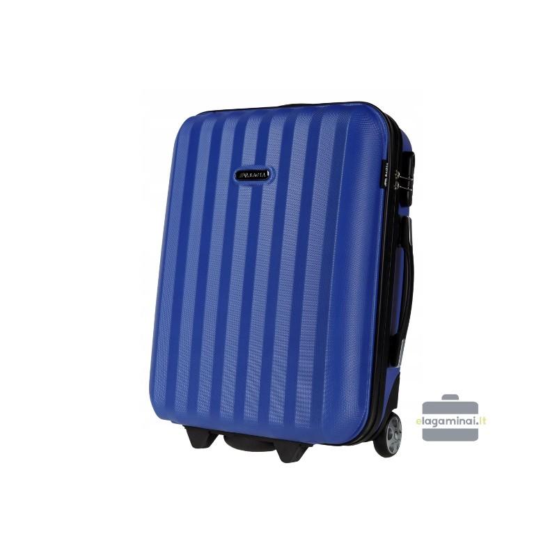 Mažas plastikinis lagaminas Bagia 514-M Mėlynas