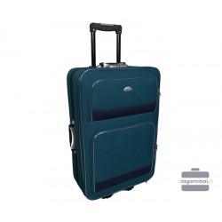 Didelis medžiaginis lagaminas Deli 101-D Žalias/tamsiai mėlynas