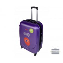 Vidutinis plastikinis lagaminas Gravitt 310-V Violetinis