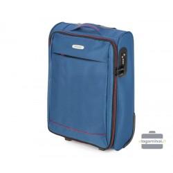 Mažas medžiaginis lagaminas Wittcen 56-3S-461 Mėlynas