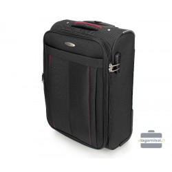 Mažas medžiaginis lagaminas VIP Travel V25-3S-271-M Juodas
