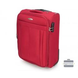 Mažas medžiaginis lagaminas VIP Travel V25-3S-271-M Raudonas