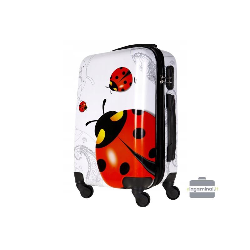 Mažas plastikinis lagaminas Bagia BL11-M