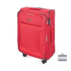 Vidutinis medžiaginis lagaminas Wittchen 56-3S-582 Raudonas