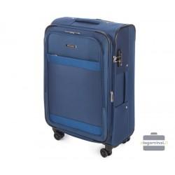 Vidutinis medžiaginis lagaminas Wittchen 56-3S-582 Mėlynas