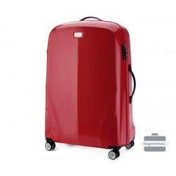 Didelis plastikinis lagaminas Wittchen 56-3P-573 Raudonas