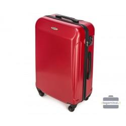 Vidutinis plastikinis lagaminas Wittchen 56-3P-872 Raudonas