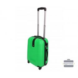 Mažas plastikinis lagaminas Gravitt 168-M Šviesiai žalias
