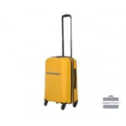 Mažas plastikinis lagaminas Burak PQ-M Geltonas