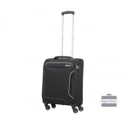 Mažas lagaminas American Tourister Holiday Heat M Juodas